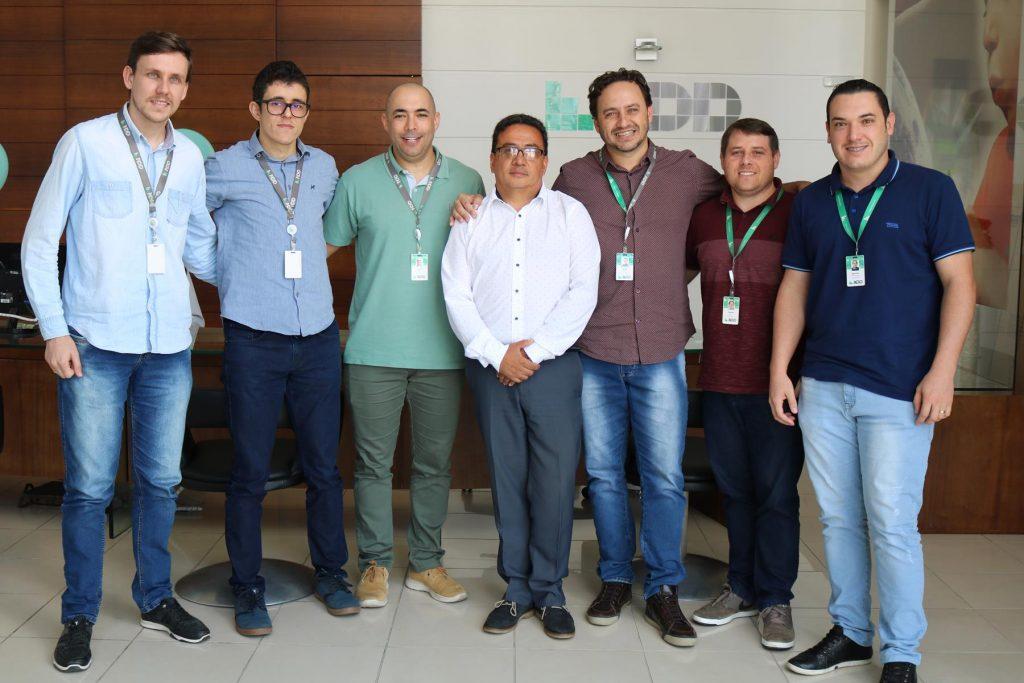 Lexmark: visita de representante da empresa à NDD reforça parceria
