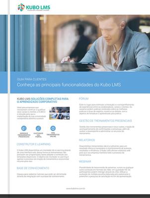 E-book: Conheça as principais funcionalidades da ferramenta Kubo LMS