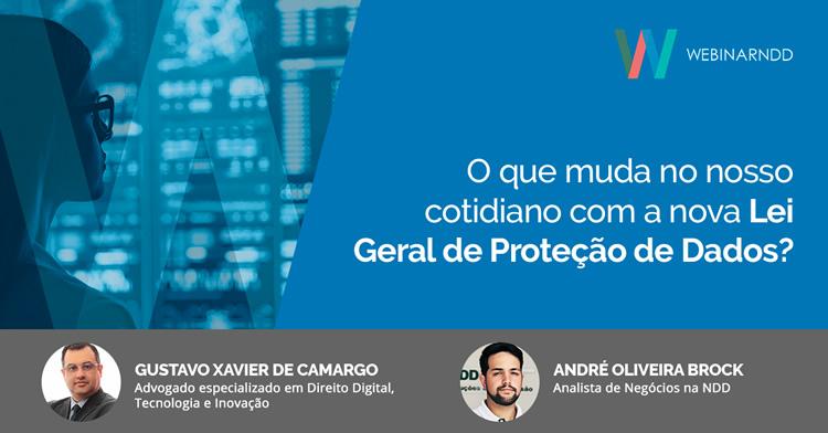 Webinar: O que muda no nosso cotidiano com a nova Lei Geral de Proteção de Dados?