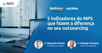 Webinar: 5 indicadores do MPS que fazem a diferença no seu outsourcing